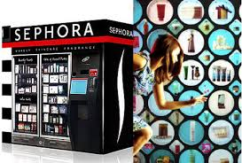Sephora Vending Machine Inspiration Fashion Vending Machines Beauty Vending Machines Fashion News