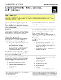 Mn State Sales Tax Chart Fact Sheet 176 Minnesota Department Of Revenue
