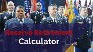 Commissioned Officer Retirement Pay Chart How To Calculate The Value Of A Guard Reserve Retirement
