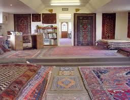 the showroom antique persian carpets