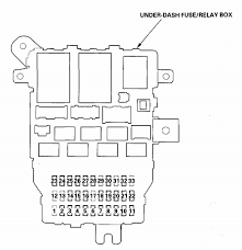 2004 honda accord door 4 cylinder driver side window is not going 04 Honda Accord Fuse Diagram full size image 2004 honda accord fuse diagram