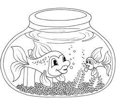 Aquarium Fish Coloring Pages - Coloring Pages