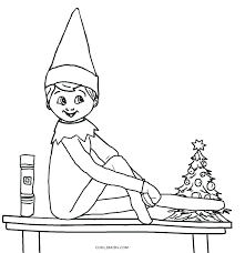 the elf on the shelf coloring pages the shelf coloring pages fun time free printable elf coloring pages for kids elf on shelf coloring pages