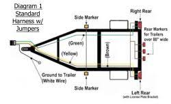 utility trailer light wiring diagram and required parts etrailer com wiring diagram for trailer lights 4 pin click to enlarge