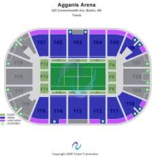 True To Life Agganis Arena Map 2019