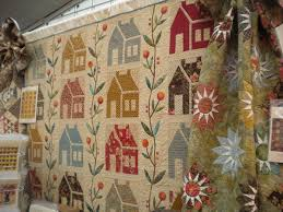 On Trend: House Blocks and Quilts Â« modafabrics & Edyta Sitar of Laundry Basket Quilts also released a charming new house  block quilt pattern. Edyta's Homestead design features beautiful applique  flowers ... Adamdwight.com