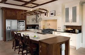 Kitchen Island Modern Rustic Kitchen Brown Wooden Kitchen Island