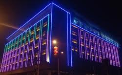 building facade lighting. LED Facade Lighting For Building