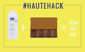 haute remove oil stains from your leather purse easily hauterfly