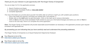 Kroger Resume Examples Kroger Printable Employment Application Download Them Or Print