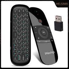 Điều Khiển Từ Xa Hel + W1 2.4g Không Dây Cho Android Tv Box Pc - Android TV  Box, Smart Box