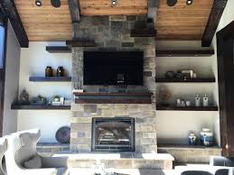 decorating for fall turn your stone fireplace into a masterpiece