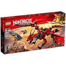 Lắp Ráp Xếp Hình Lego Ninjago Season 13 OBM 99727 : Set 4 Bộ Ninja Cưỡi  Rồng Thần