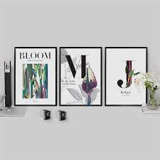 Декоративные плакаты «Be the artist of your blooming joy ...