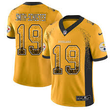 Pittsburgh Football Juju Drift Gold Steelers Rush Sale - Limited Jersey Fashion 19 Men's Jerseys Smith-schuster