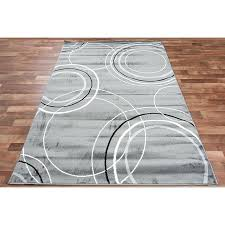 circle area rugs modern grey area rug black ivory circles 3 color abstract room size rug circle area rugs