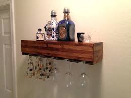 wine glass rack shelf furniture captivating wall mounted wood wine glass rack with shelf bar and wine glass rack