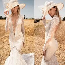 country wedding dresses 2017 long sleeves mermaid lace wedding