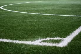 grass soccer field with goal. Grass, Outdoor, Structure, Plant, Sport, Field Grass Soccer With Goal