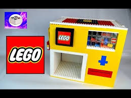 Lego Soda Vending Machine Extraordinary How To Build A Mini LEGO Soda Vending Machine Pocket Sized YouTube