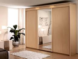 Natural Beech Wardrobe Sliding Doors Mirror New York Coloured Panels  Finishes Matching Modern Style Stunning Panel