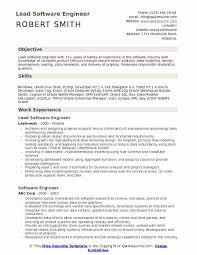 Experienced Software Engineer Resumes Lead Software Engineer Resume Samples Qwikresume