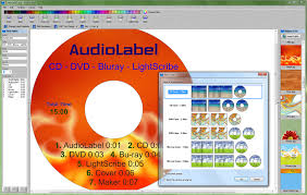 Free Test Maker Printable Inspiration AudioLabel Cover Maker Software For CD DVD LightScribe