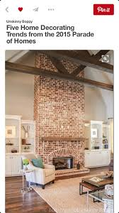 i am building a house want to do my walls grey owl at 75 strength white trim i am going to brick my vaulted fireplace all the way up like this