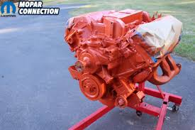 Mopar Engine Color Chart