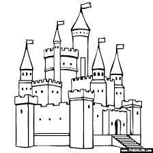 Small Picture Castle Coloring Page