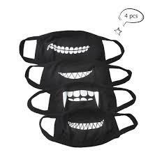 Mouth Mask Design Buy 2 Pcs Cotton Blend Anti Dust Face Mouth Mask Black For