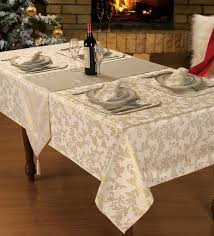 sparkle heather tablecloth collection napkins runner placemat cream 70 inch round