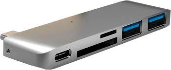 Купить <b>USB</b>-<b>хаб HyperDrive</b> 5-in-1 <b>USB</b>-C Hub with Power Delivery ...