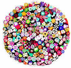 Nail Art Manicure Fimo Canes with Free Cutter - 200pcs | SHANY ...