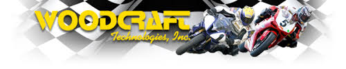 woodcraft technologies logo. besides handling all your 2-stroke and grand prix needs, rising sun cycles also handles the complete line of woodcraft technologies products for sport bike logo