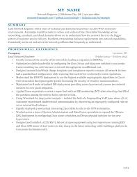 Networking Resume For 1 Year Experience Resume For Your Job