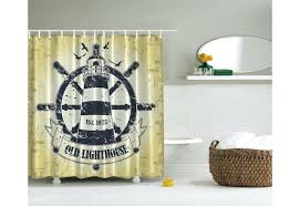 nautical hooks set curtains target lighthouse shower curtains teawing co