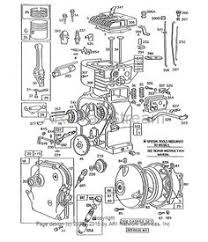 craftsman riding mower electrical diagram wiring diagram find replacement repair parts for briggs stratton engines