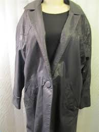 image is loading gino di giorgio black leather jacket coat 3