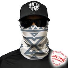 Aztec Themed Face Shield Lightweight Bandana Spf40 Sun