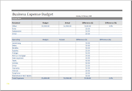 Monthly Business Expenses Business Budget Template Excel Inspirational Excel Monthly Business