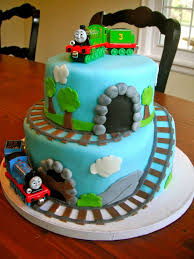 I Made This For My 3 Year Old Cousin Who Loves Trains All Fondant