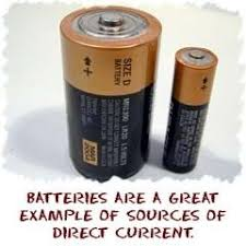 direct current examples. the best real-life example of direct current is abattery. batteries have positive (+) and negative (-) terminals. if you take a wire connect examples quora