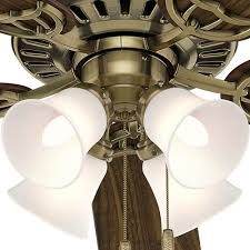 hunter brass ceiling fans. Unique Fans Shop Hunter Fan Studio Series 52inch Antique Brass Ceiling  Free  Shipping Today Overstockcom 8344633 Inside Fans P