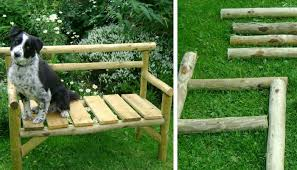 pallet outdoor bench diy. chainsaw fence poles six inch nails u003d garden benchhow cool and super adorable is this small but rustic modern bench right pallet outdoor diy