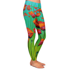 Leggings By John Nolan Dancing Daffodils