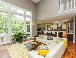 Gray And Yellow Living Rooms Photos Ideas And InspirationsAccent Colors For Living Room