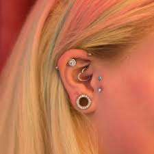 Industrial Piercings What You Need To Know Pierced