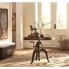 home decorators collection natural adjustable end table 0179800960