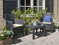 polynesian furniture. Bistro Table And Chairs Set With Cushions Rattan Patio Garden Outdoor Furniture Polynesian